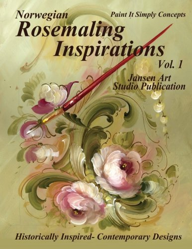 Norwegian Rosemaling Inspirations