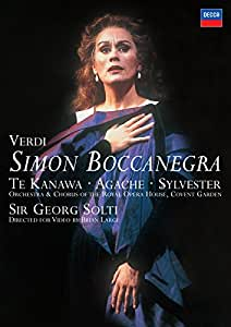 Simon Boccanegra: Royal Opera House (Solti) [DVD] [2007]