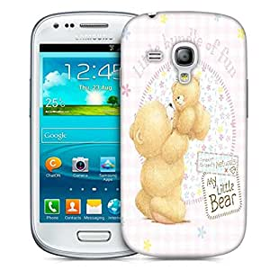 Snoogg Baby Designer Protective Phone Back Case Cover For Samsung Galaxy S3 Mini