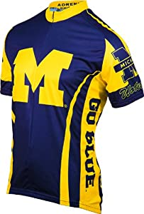 NCAA Michigan Wolverines Cycling Jersey by Adrenaline Promotions