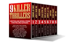 9 Killer Thrillers (9 thriller novels from 9 bestselling authors for .99!)