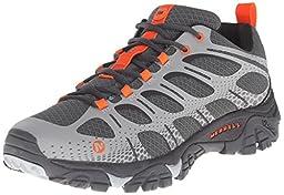 Merrell Men\'s Moab Edge Hiking Shoe, Grey, 13 M US