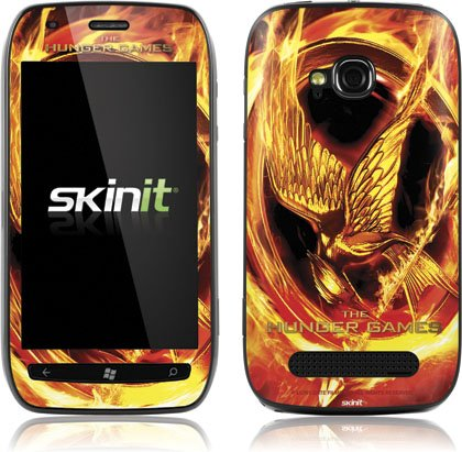 Skinit The Hunger Games Mockingjay Vinyl Skin for Nokia Lumia 710
