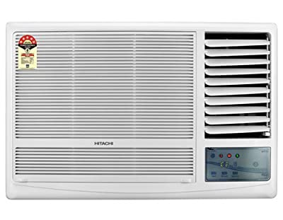Hitachi RAW122KUD Kaze Plus Window AC (2 Ton, 1 Star Rating, White)