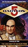 The Long Night of Centauri Prime (Babylon 5: Legions of Fire, Book 1)