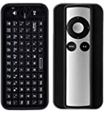iPazzPort Bluetooth Mini Wireless Keyboard for Apple TV with the Sleeve for Apple TV Remote Control KP-810-16BR