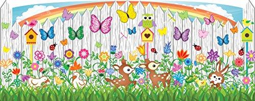 Mona Melisa Designs Baby Crib Mural, Flower