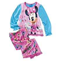Minnie Mouse 2pc Toddler Pajamas Set Oh So Pretty (4T)