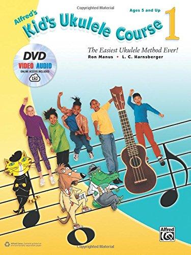 alfreds-kids-ukulele-course-1-dvd-and-online-audio-the-easiest-ukulele-method-ever-ukulele-alfred-pu
