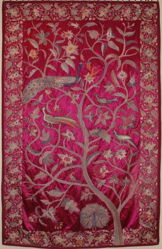 PC901X-Antique Ottoman Empire - Turkish Tapestry, circa 18th or early 19th century, Silk