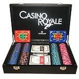 """James Bond 007 Casino Royale Holzbox Poker Chip Set + Matsui Plaques $ 500.000 - $ 1.000.000von """"spieleatelier"""""""