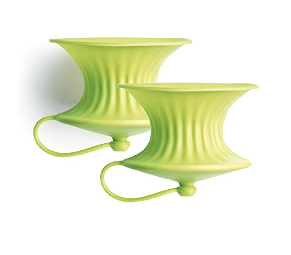 Lekue Lemon Press Set Green 2 Unit at amazon