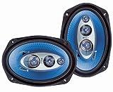 Pyle PL6984BL 6 x 9-Inch 400-Watt 4-Way Speakers