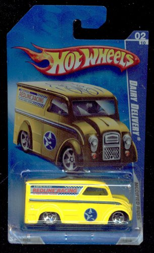 Hot Wheels 2009-158/190 Modified Rides 02/10 Dairy Delivery 1:64 Scale - 1