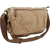 Vagabond Traveler Casual Style Canvas Messenger Bag by Vagabond Traveler