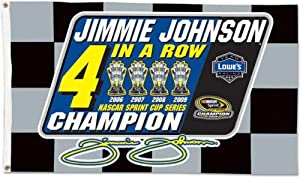 Jimmie Johnson 2009 Nascar Sprint Cup Cup Champion 3x5 Flag by WinCraft