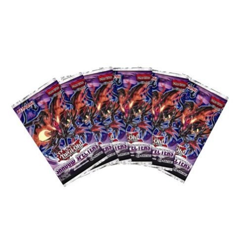 Yugioh-Shadow-Specters-SEALED-6-PACK-LOT-Yugioh-Collectible-Trading-Card-Game-1st-Edition-English-Series-Booster-Packs-9-cards-per-pack