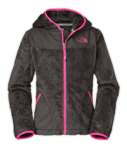The North Face Oso Hoodie Girls Jacket Xl Graphite Grey front-800655