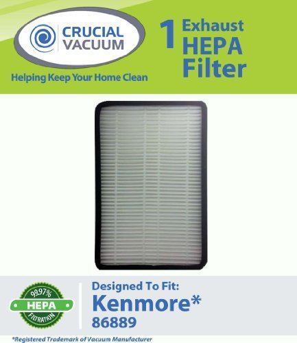 1 Kenmore 86889 Ef 1 Exhaust Hepa Vacuum Filter Compare