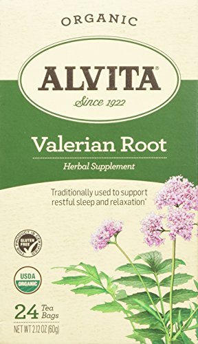 Alvita Organic Herbal Valerian Tea, 24 Count