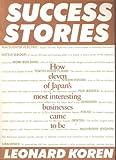 Success Stories (0877016356) by Koren, Leonard