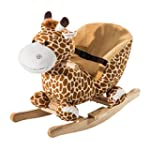 HOMCOM Children Kids Rocking Horse To...