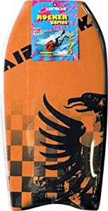 Buy Airwalk Rocker 37 Orange Bodyboard by Airwalk