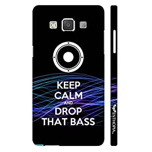 Samsung Galaxy E7 DROP THAT BASS designer mobile hard shell case by Enthopia