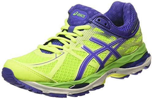 ASICS Gel-cumulus 17 - Scarpe Running Donna, Giallo (flash Yellow/acai/jasmin Green 0733), 40 1/2 EU