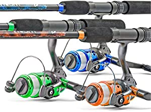 South bend worm gear spinning fishing combo for South bend fishing reel