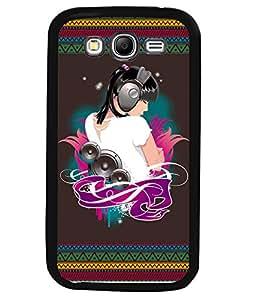 Printvisa 2D Printed Music Girl Designer back case cover for Samsung Galaxy Grand 2 SM - G7102 / G7106 - D4185