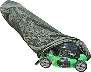 Universal Olive Push Lawn Mower Cover by Rage Powersports