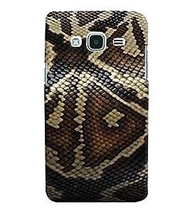 Printvisa Elegant Snake Skin Background Back Case Cover for Samsung Galaxy J2 (2016)