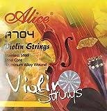 ALICE A704 Violin Strings バイオリン用セット弦 アルミ巻き