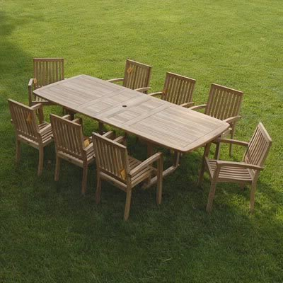 Outdoor Teak Wood Furniture A Good Investment For Your