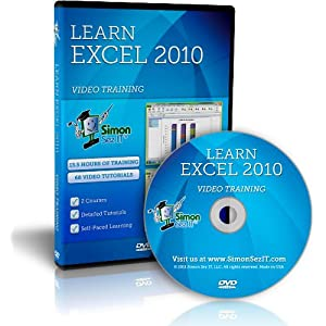 Learn Microsoft Excel 2010 - Beginners and Advanced Training