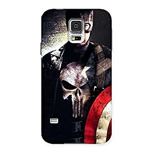 Punish Sheild Multicolor Back Case Cover for Samsung Galaxy S5