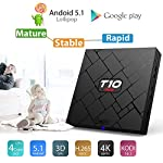 Bqeel-T10-MINI-Android-TV-Box-Pormotion-de-Nol-Android-51-KODI-161-TV-BOX-Amlogic-S905-Quad-Core-1G-8G-4K-WiFi-H265-DLNA-Miracast-HD-Mdia-MXQ-PRO-promu