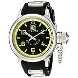 Invicta Men's 4342 Russian Diver Collection Black Sport Watch ~ Invicta