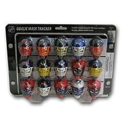 Buy Franklin Sports NHL Mini Goalie Mask Tracker Standings Board by Franklin