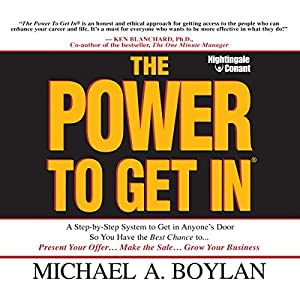 The Power to Get In Audiobook