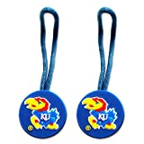 Kansas Jayhawks Zipper Pull Charm Tag Set Luggage Pet ID Ncaa Kansas Jayhawks Zipper Pull Charm Tag at Amazon.com