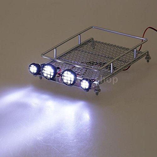 sangdo-austar-roof-luggage-rack-w-led-light-bar-for-4wd-cr01-axial-scx10-silver-b9v6