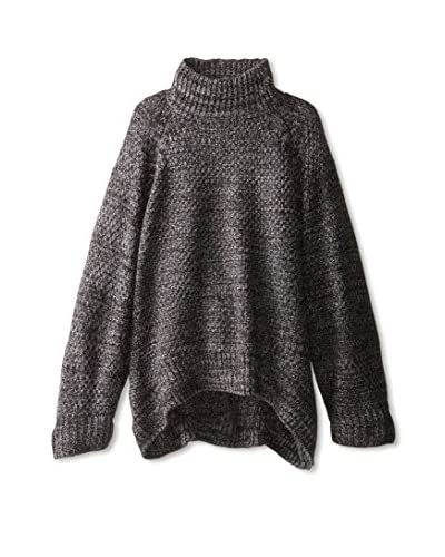 525 America Women's Mock Neck Loose-Fit Sweater