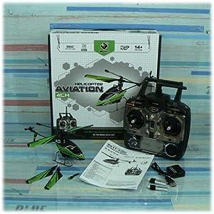 WL Toys新型V911 4ch 小型電動ヘリコプター フルセットRTF[V911-1](並行輸入商品)