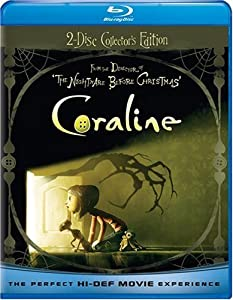 Coraline Two-disc Blu-raydvd Combo W Anaglyph 3d by Universal