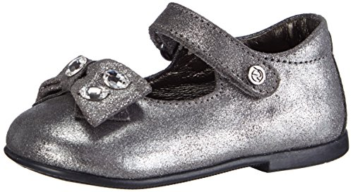 Naturino SWAROVSKI 4369, Pantofole imbottite Ragazza, colore grigio (stahl 9102), taglia 21