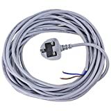 Spares2go Mains Cable / Power Lead & Plug for Dyson DC01 DC03 DC04 DC07 DC14 Vacuum Cleaners (10 Metres)
