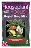 Growth Technology MDHF2 2Litre Houseplant Focus Repotting Mix