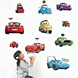 Disney Pixar Cars Piston Cup Champs Peel & Stick Wall Decal